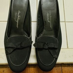 Pair of Salvatore Ferragamo shoes.